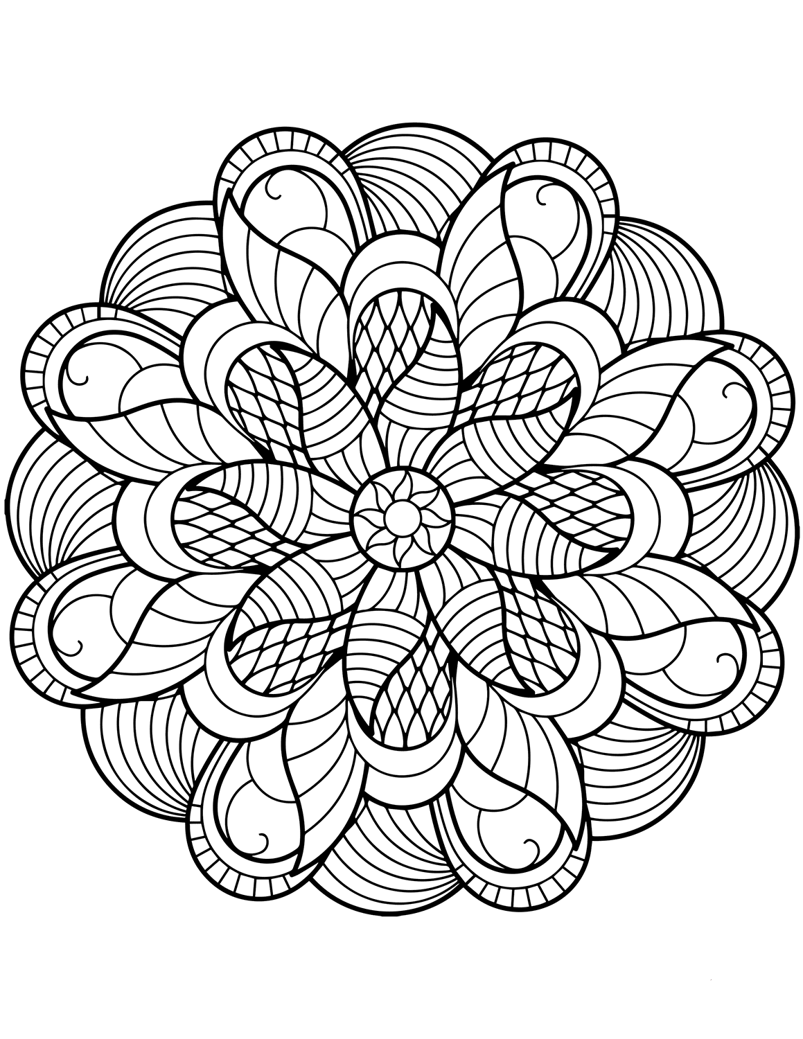 mandala free printable free printable geometric coloring pages for kids free printable mandala