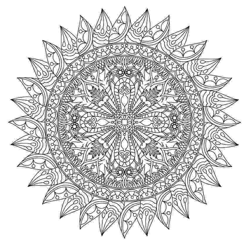 mandala free printable free printable mandalas for kids best coloring pages for free mandala printable