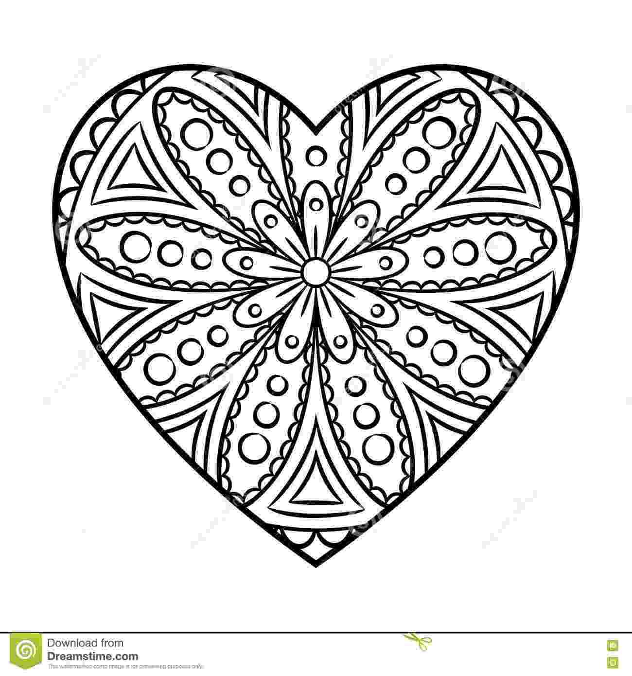 mandala heart 19 best images about mandala coloring pages on pinterest heart mandala