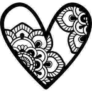 mandala heart don39t eat the paste heart mandala to color mandala heart