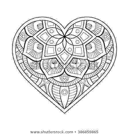 mandala heart don39t eat the paste heartmail mandala mandala heart