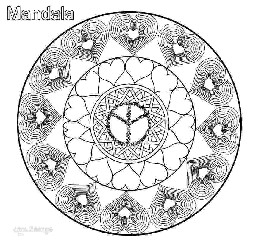 mandala heart heart mandala zentangle etsy heart mandala