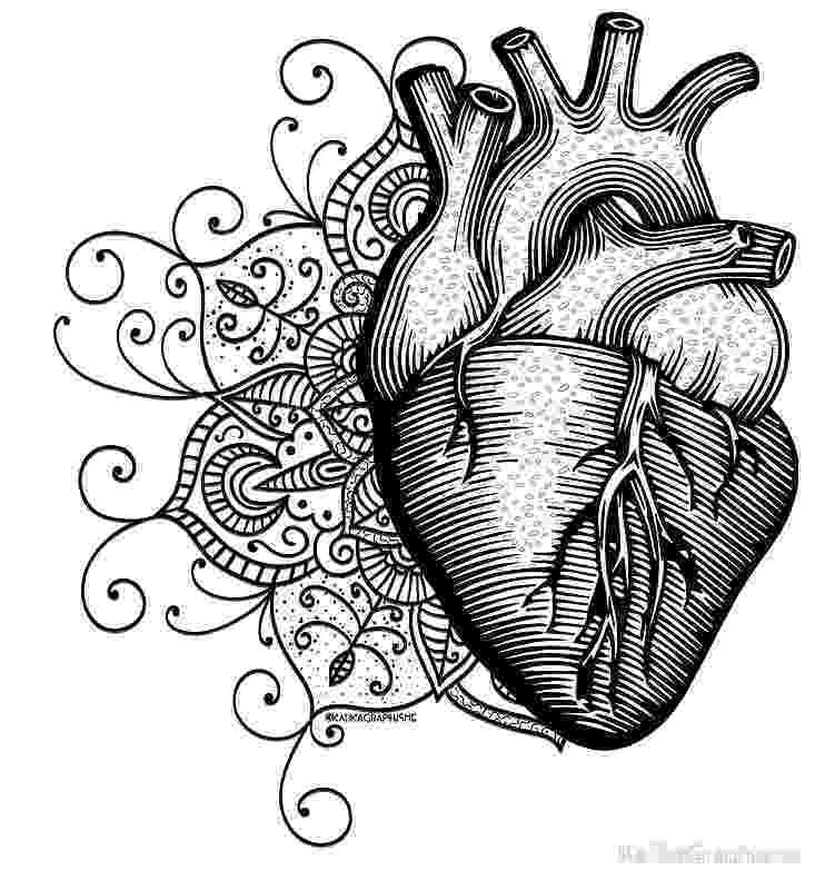 mandala heart silhouette design store product id mandala heart