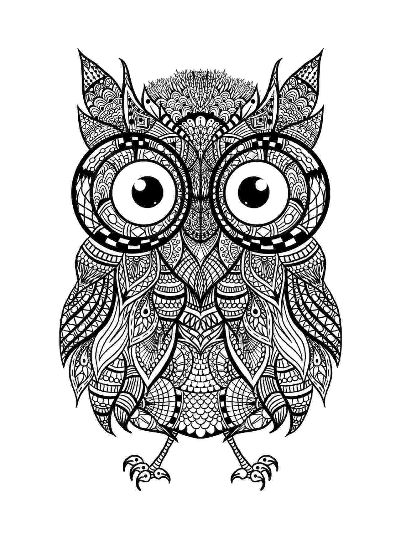 mandala owl 44 printable mandala coloring pages owl mandala