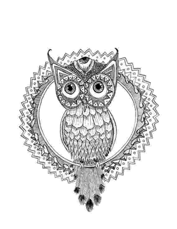 mandala owl body owl sketch art tattoo drawing clipart tattoo mandala owl