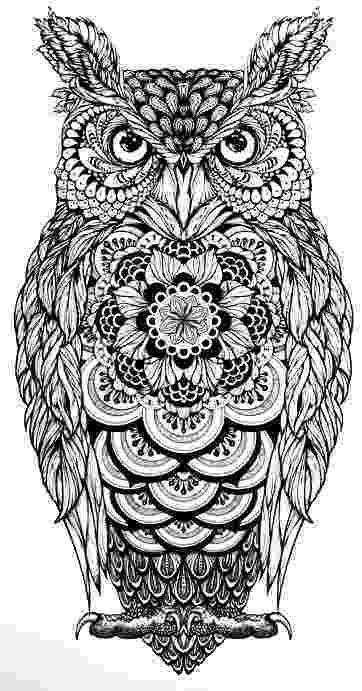 mandala owl items similar to third eye owl sketch pen and ink bird owl mandala