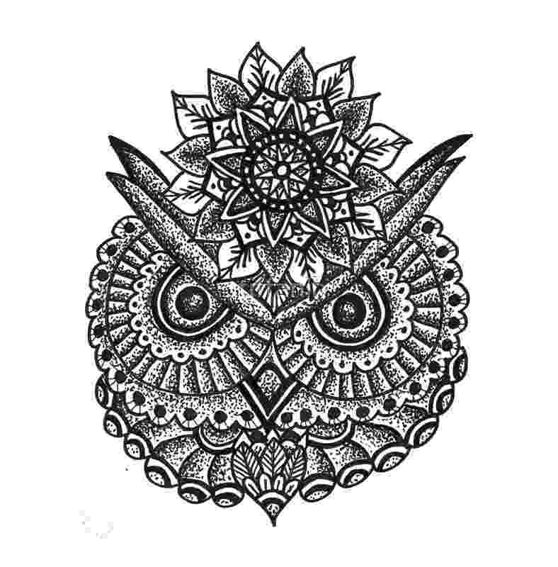 mandala owl quotmandala owlquot canvas print by rkrishnappa redbubble owl mandala