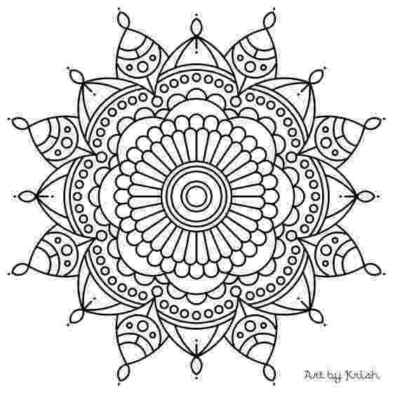 mandala print out 106 printable intricate mandala coloring pages by print mandala out