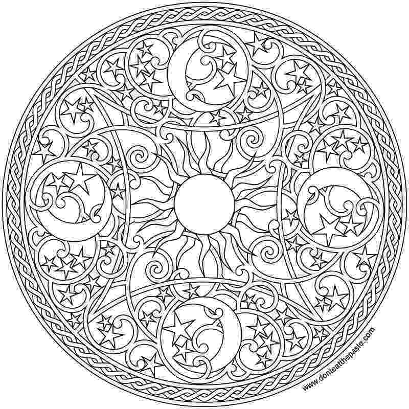 mandala print out color your stress away with mandala coloring pages skip out print mandala