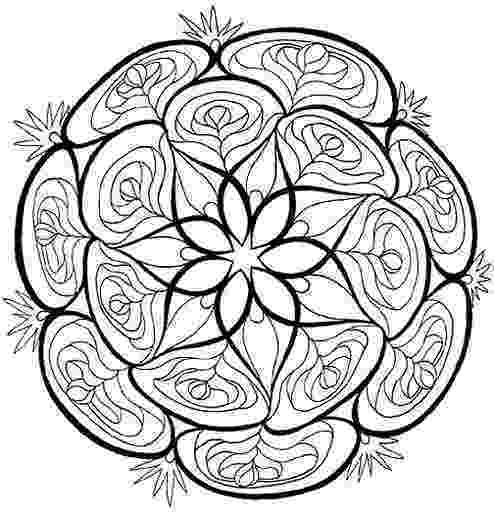 mandala print out coloring pages judyclementwall out print mandala