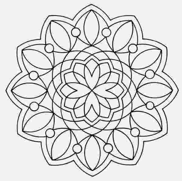 mandala print out coloring pages out mandala print