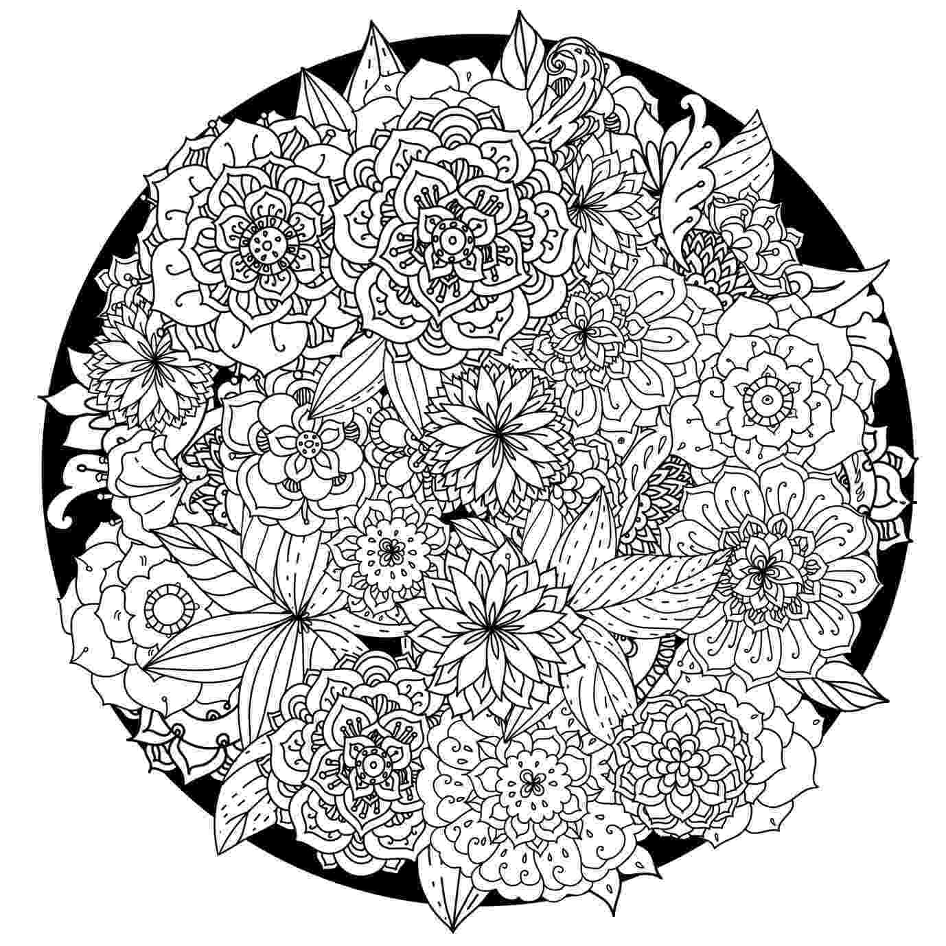 mandala print out flower coloring pages that you can print free coloring pages print mandala out