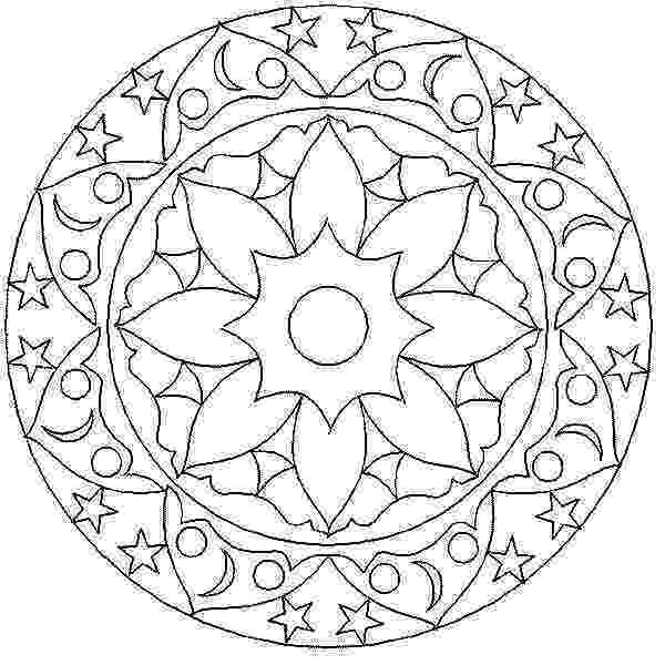 mandala print out free mandala printable coloring page kids bloom print mandala out