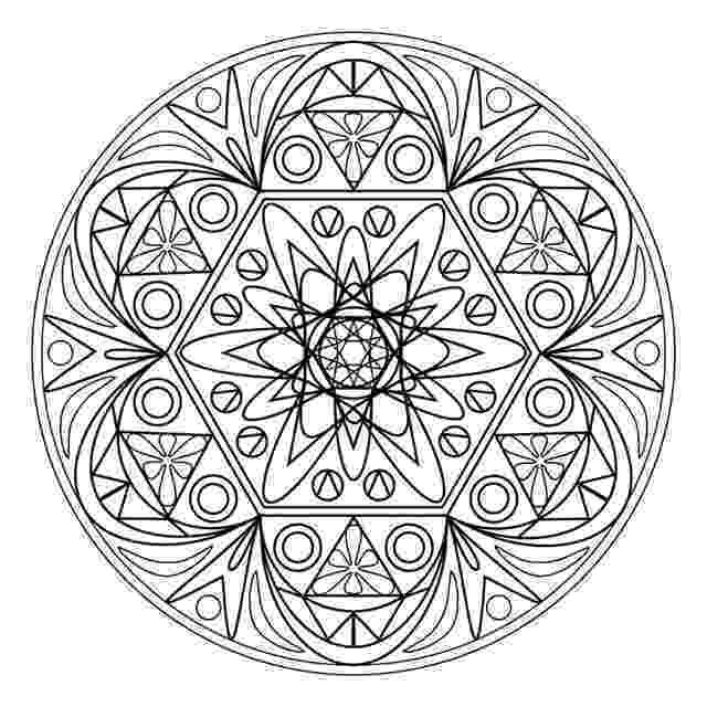 mandala print out linking visual elements to conceptual ideas out print mandala