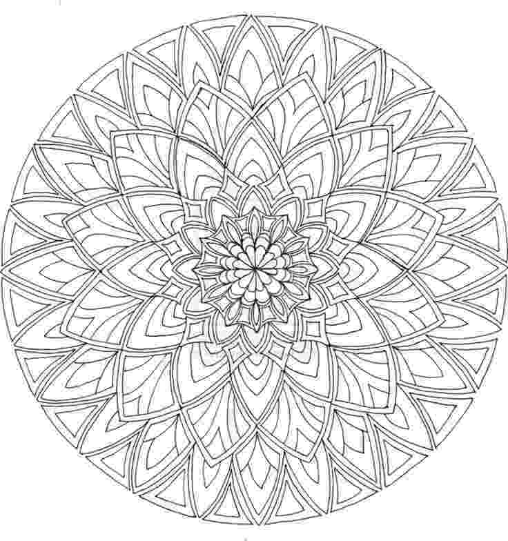 mandala print out mandala adult coloring page from zen out vol 1 by print out mandala