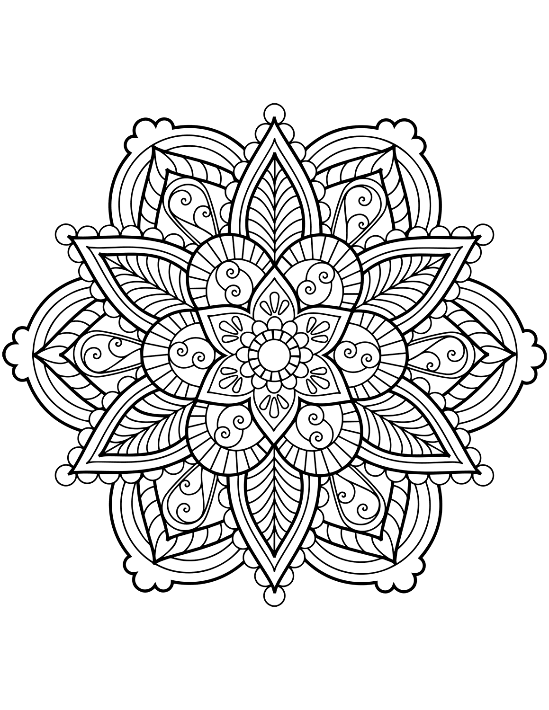 mandalas for coloring a free printable mandala coloring page 60 more available coloring for mandalas