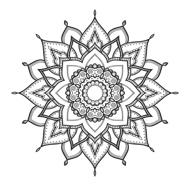 mandalas for coloring free printable adult coloring pages coloring for mandalas
