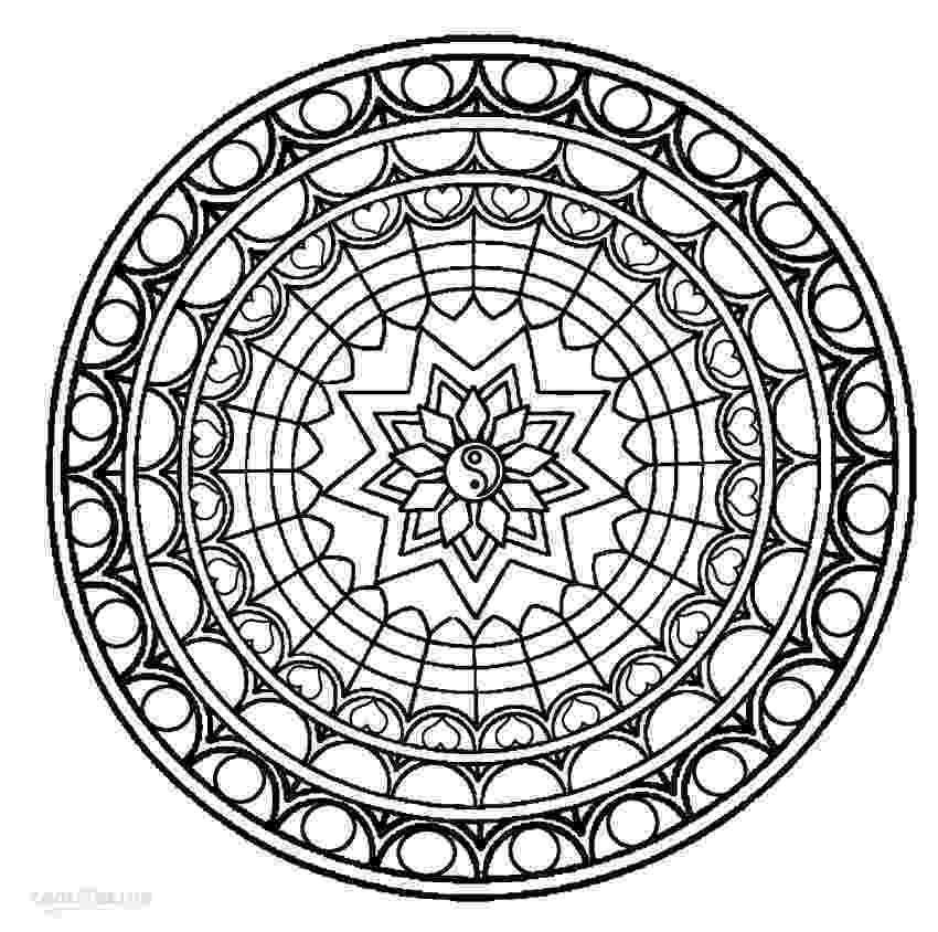 mandalas for coloring get this free mandala coloring pages for adults 42893 for mandalas coloring