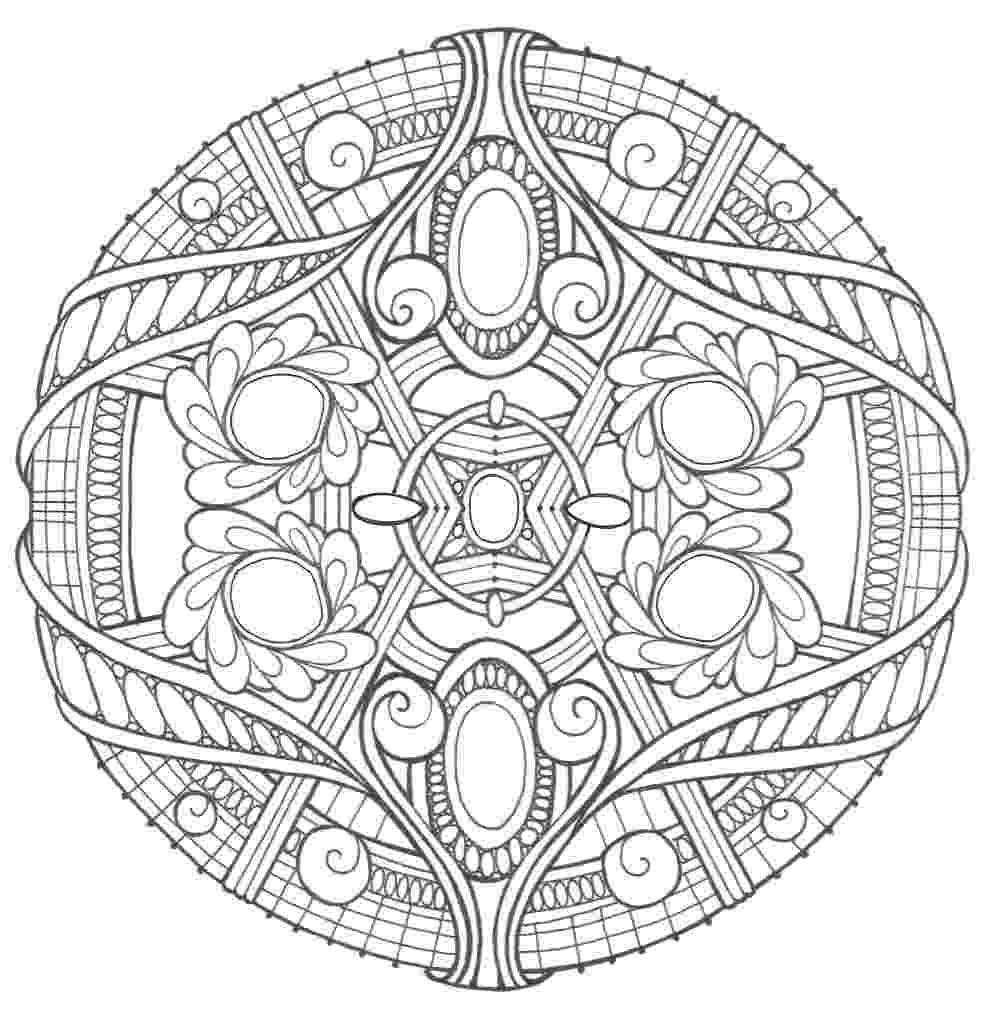 mandalas for coloring opal palace mandala coloring page favecraftscom coloring mandalas for
