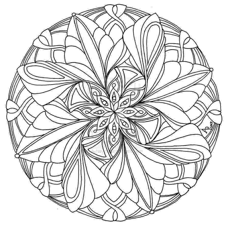 mandalas for coloring these printable mandala and abstract coloring pages coloring for mandalas