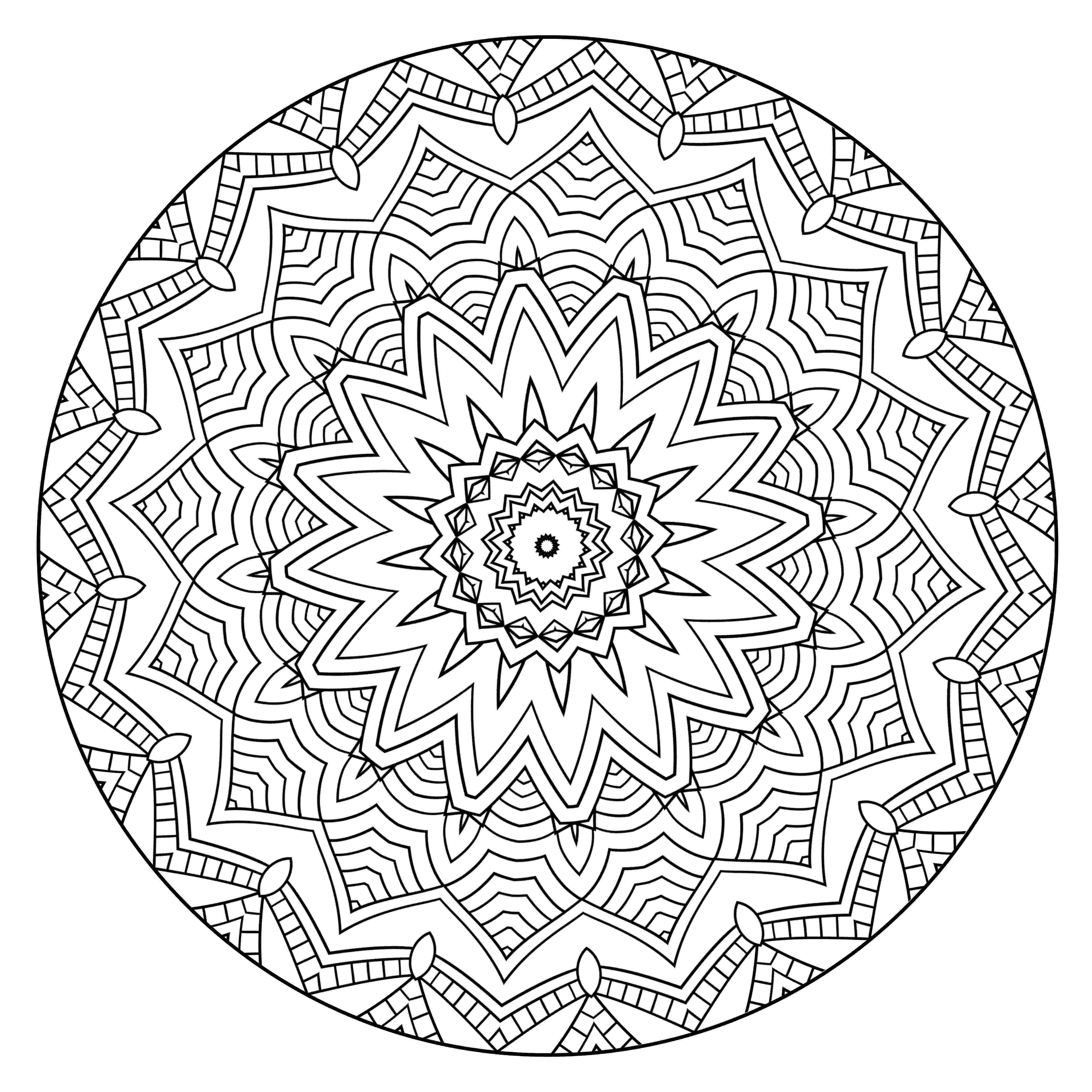 mandalas mandala coloring pages for kids to download and print for free mandalas