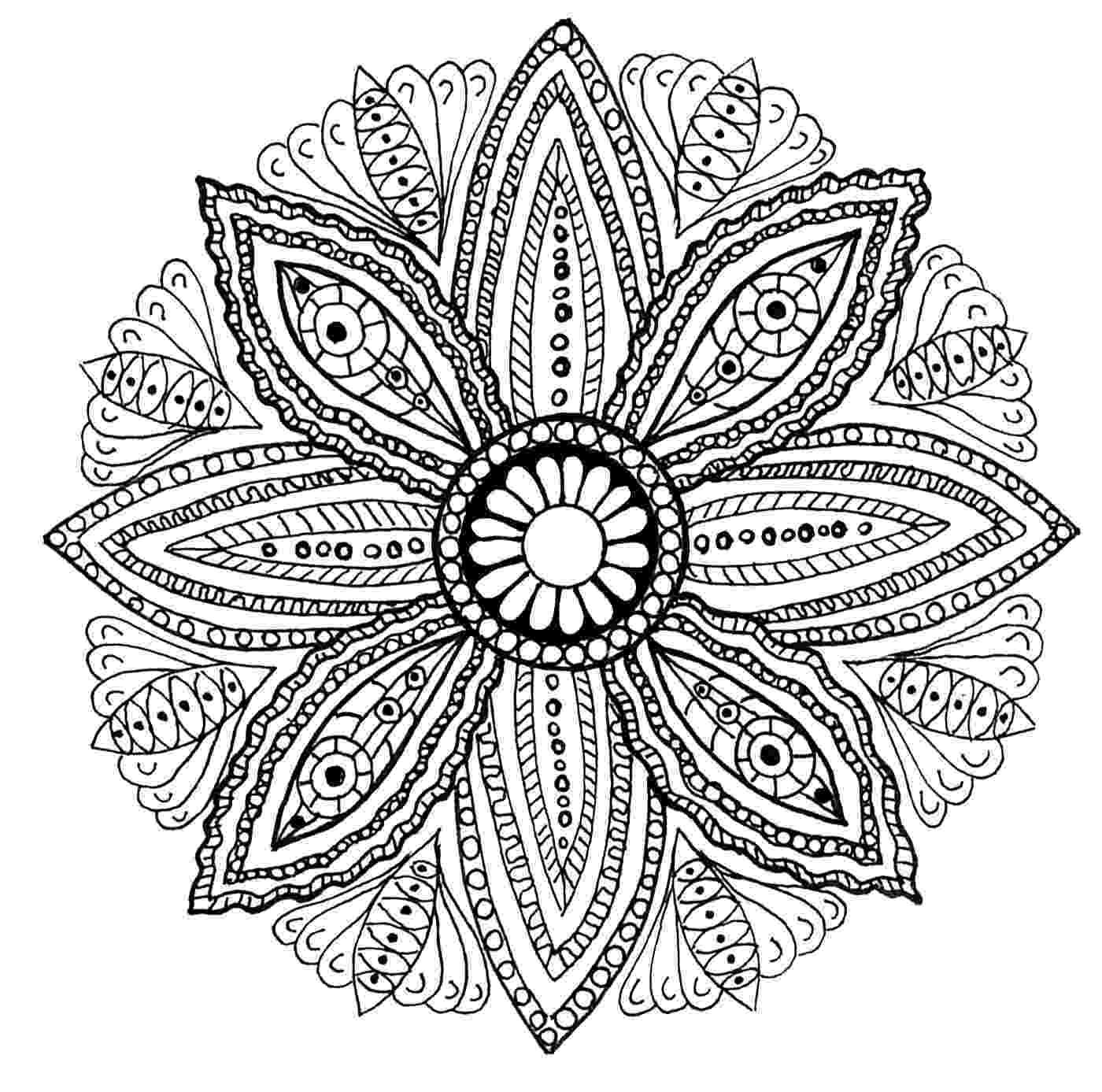 mandalas mandala royal malas adult coloring pages mandalas