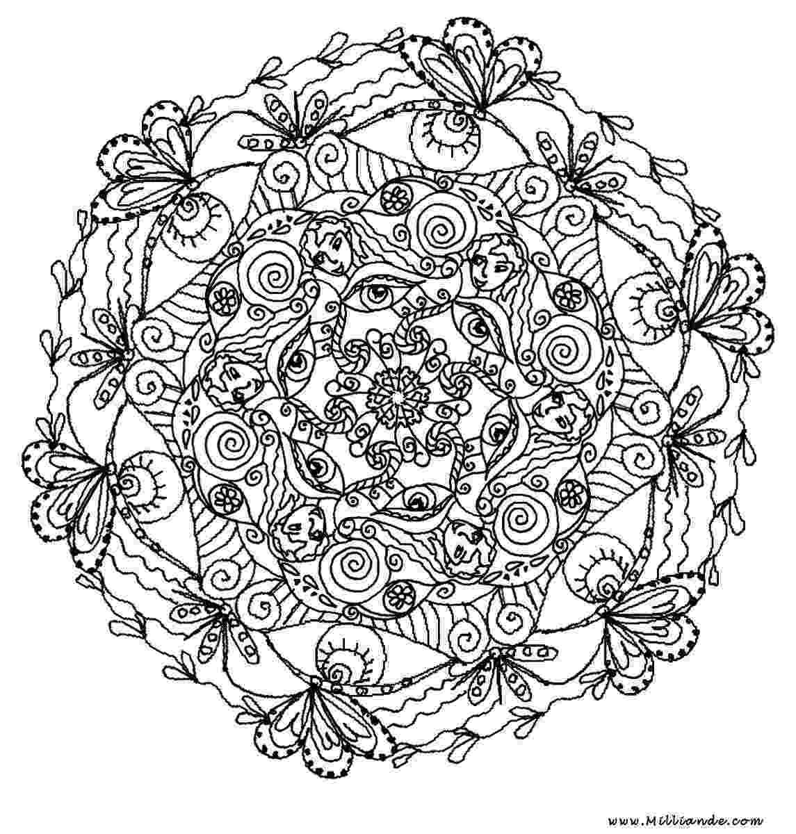 mandalas mandala to download in pdf 6 mandalas adult coloring pages mandalas