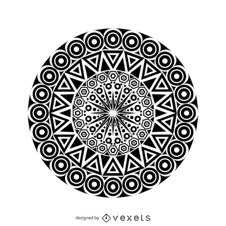 mandalas tribal mandala design vector download mandalas