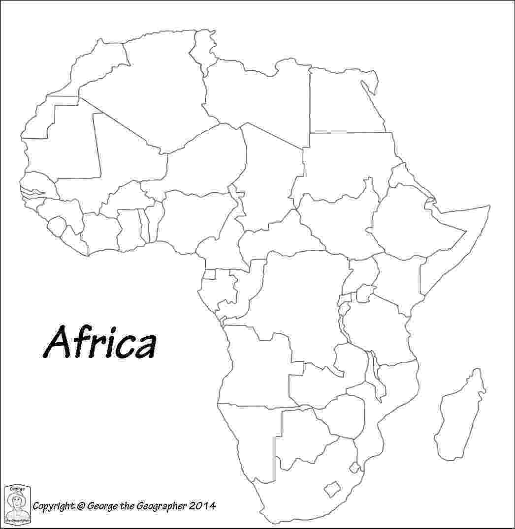 map of africa printable black and white common core fiction work and informational texts a free and map printable of africa black white