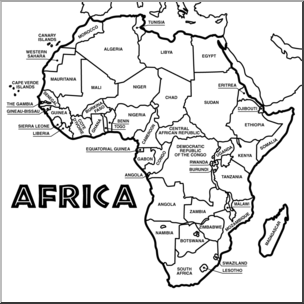 map of africa printable black and white free puzzle piece outline download free clip art free of africa and printable black map white