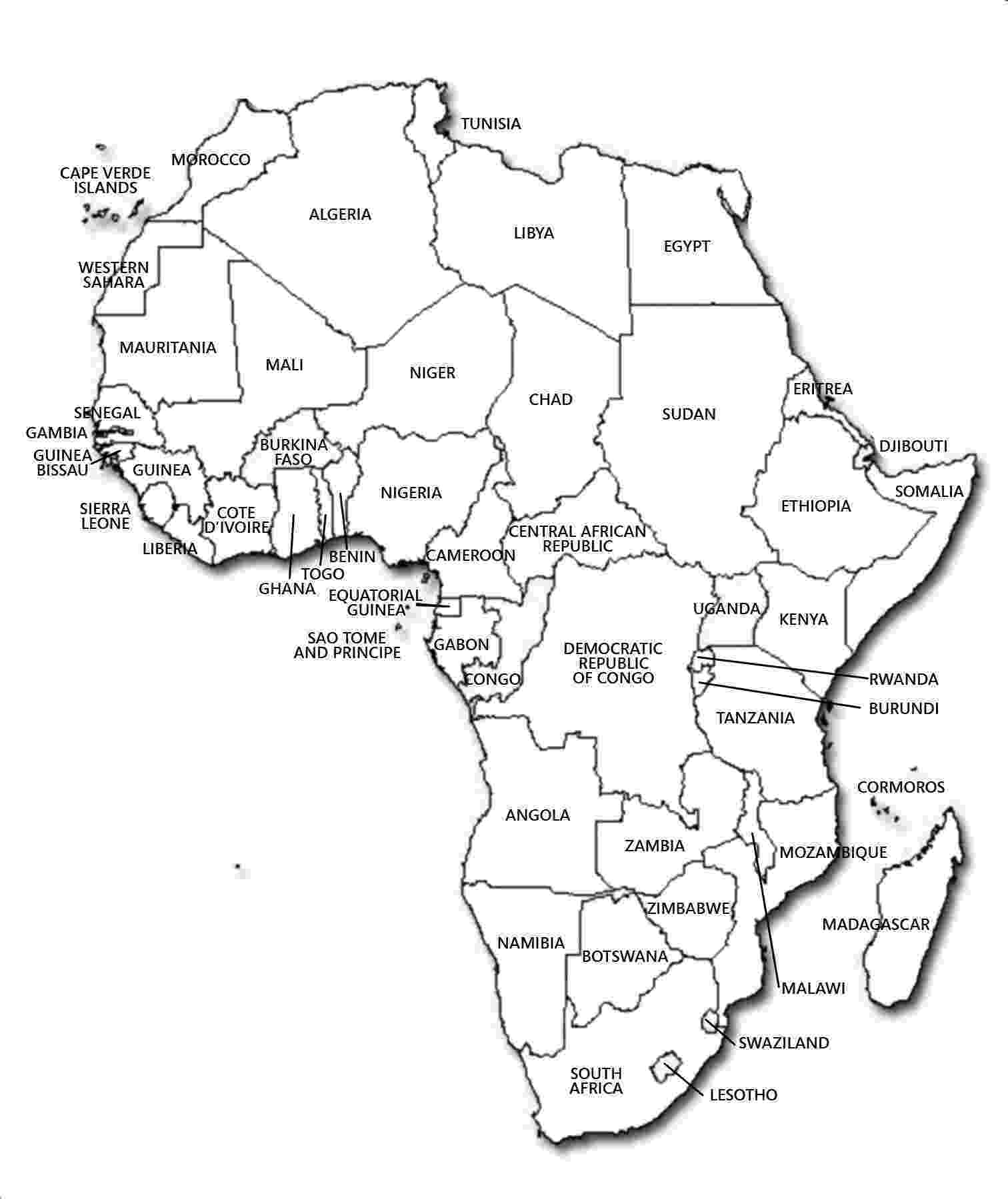 map of africa printable black and white pin by carrie amaro on homeschool ideas africa map africa printable of and white map black