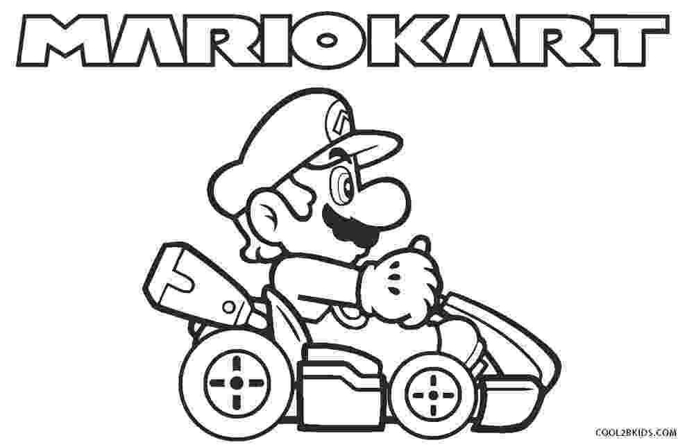 mario kart wii coloring pages locomotive drawing at getdrawingscom free for personal mario wii coloring kart pages
