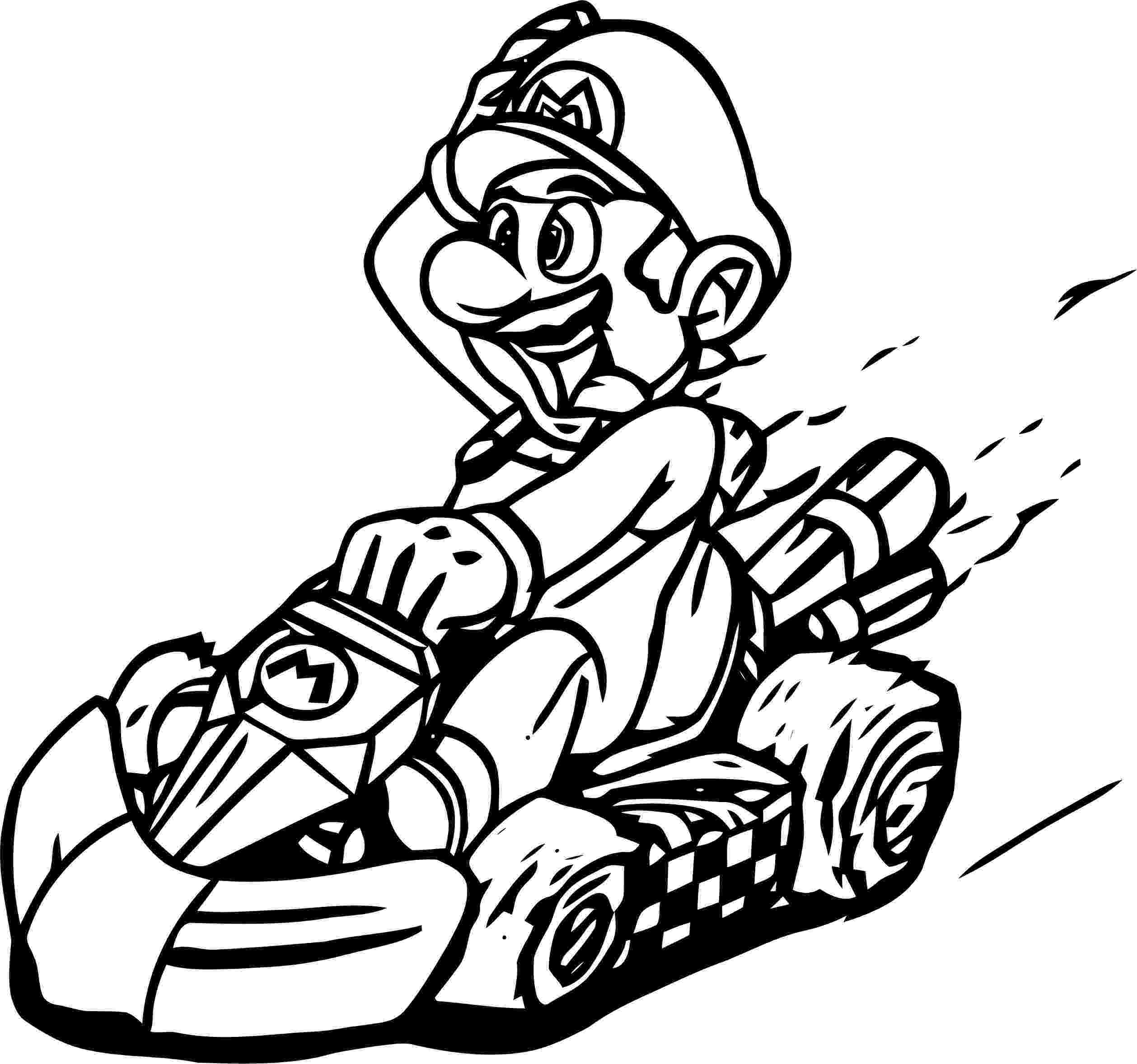mario kart wii coloring pages mario kart coloring pages best coloring pages for kids kart coloring wii mario pages