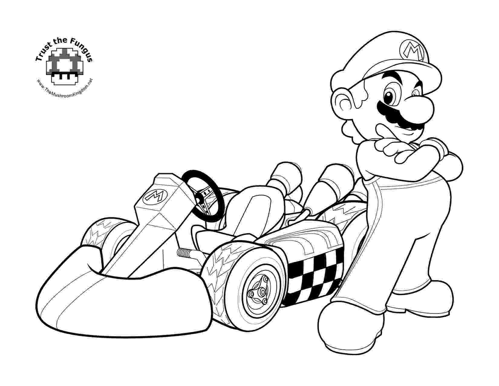 mario kart wii coloring pages tmk blog archive 2008 mario coloring wii kart pages
