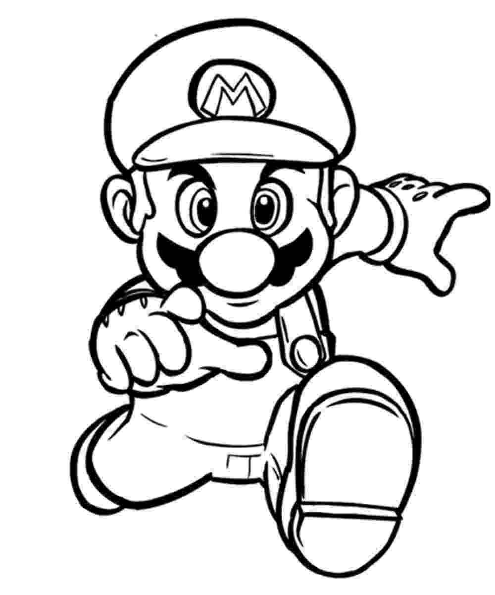 mario pictures coloring pages mario coloring pages free and printable mario pictures