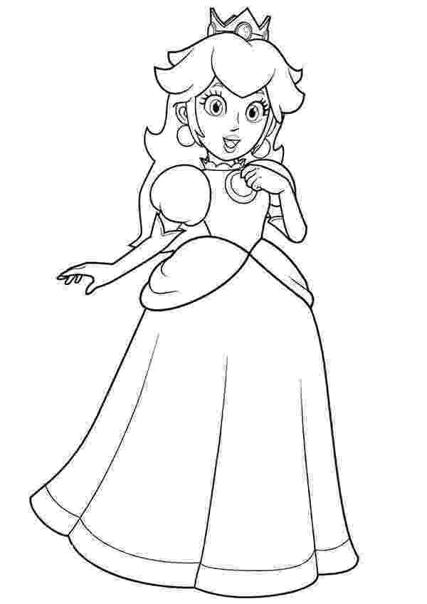 mario princesses mario coloring pages coloring pages mario princesses