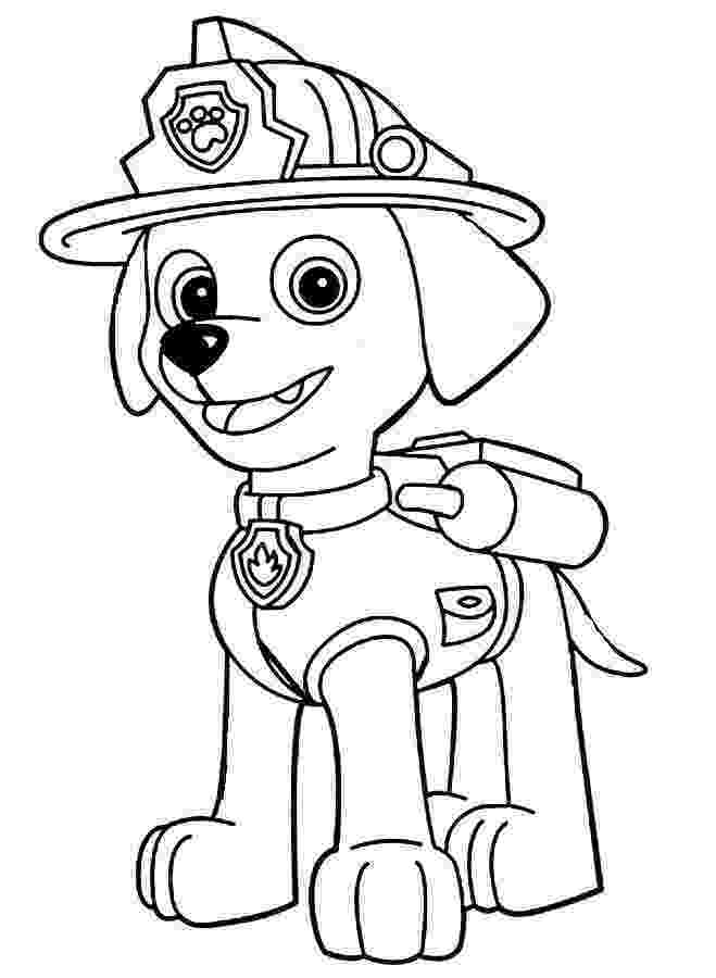 marshall from paw patrol marshall free colouring pages paw from marshall patrol