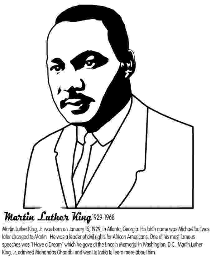 martin luther king jr coloring page color dr martin luther king jr worksheet educationcom page martin coloring luther king jr