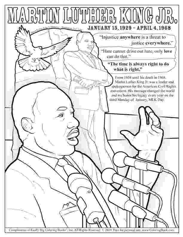 martin luther king jr coloring page free printable martin luther king jr day mlk day king luther page jr martin coloring