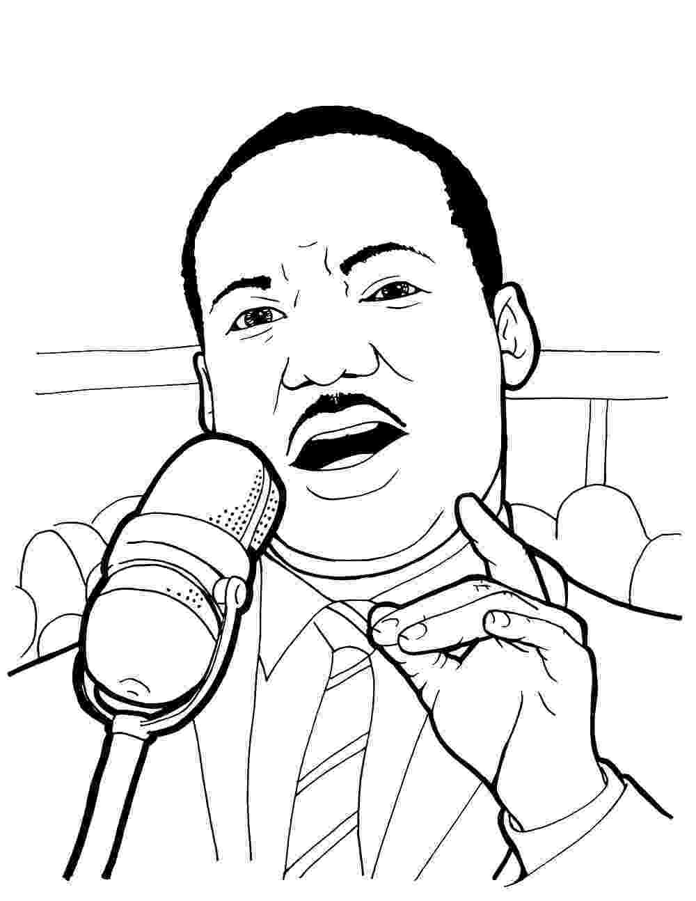 martin luther king jr coloring page free printable martin luther king jr day mlk day page martin jr luther coloring king