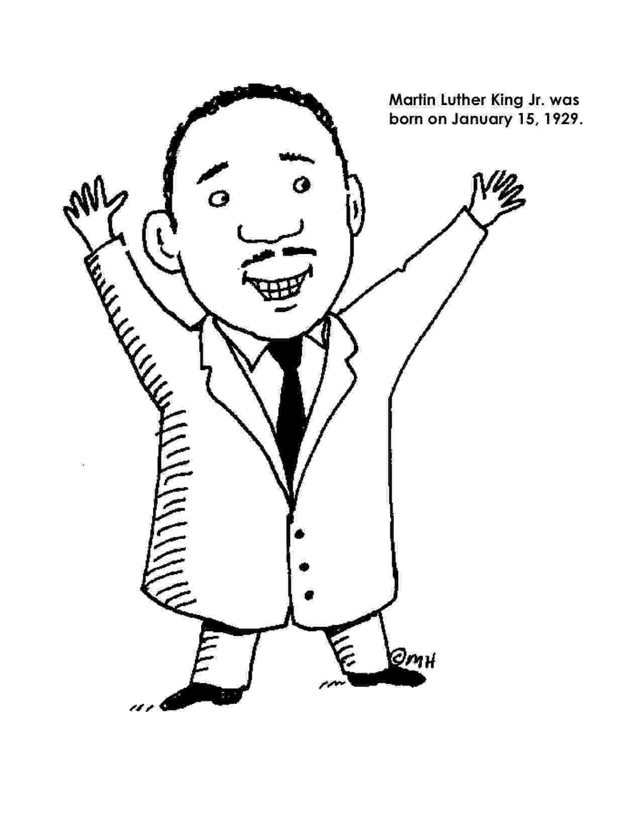 martin luther king jr coloring page get this easy preschool printable of martin luther king jr jr page king luther coloring martin