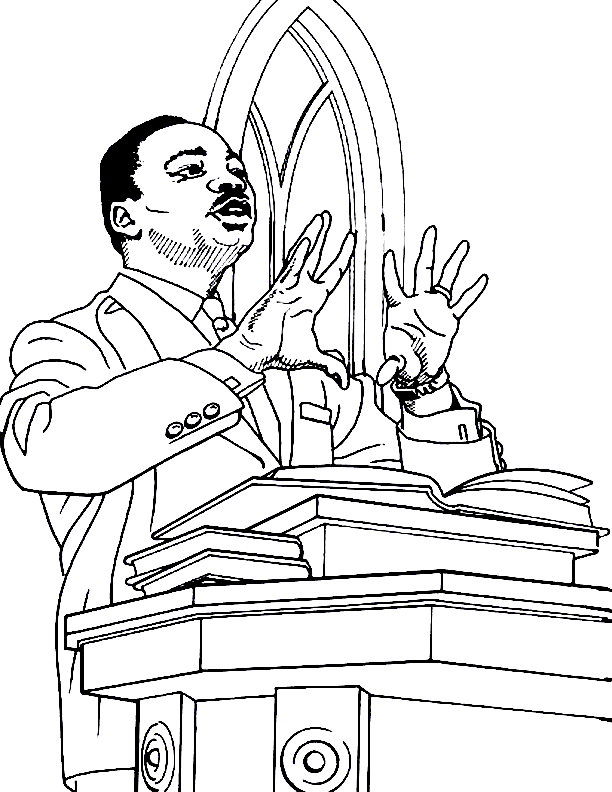 martin luther king jr coloring page martin luther king jr coloring pages realistic coloring jr king luther page coloring martin