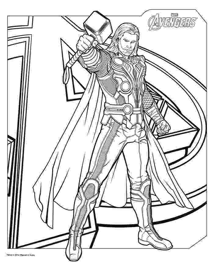 marvel coloring pages thor coloring pages coloring pages to download and print coloring pages marvel