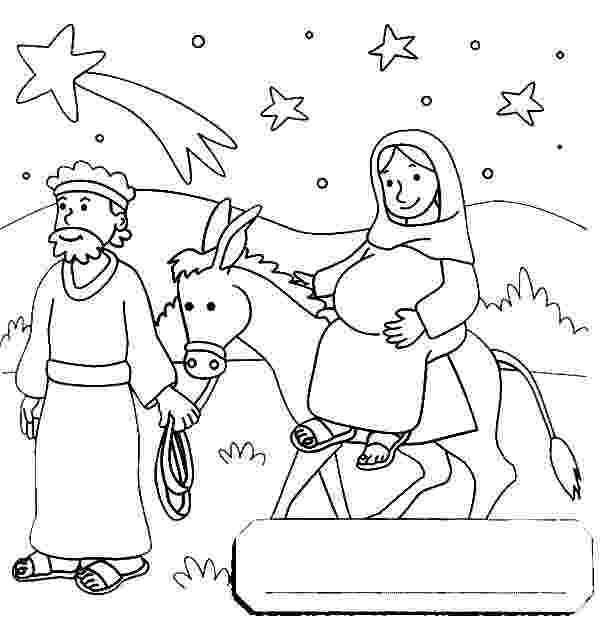mary and joseph travel to bethlehem coloring pages joseph pulling mary on the donkey flight into egypt joseph and travel coloring mary pages to bethlehem