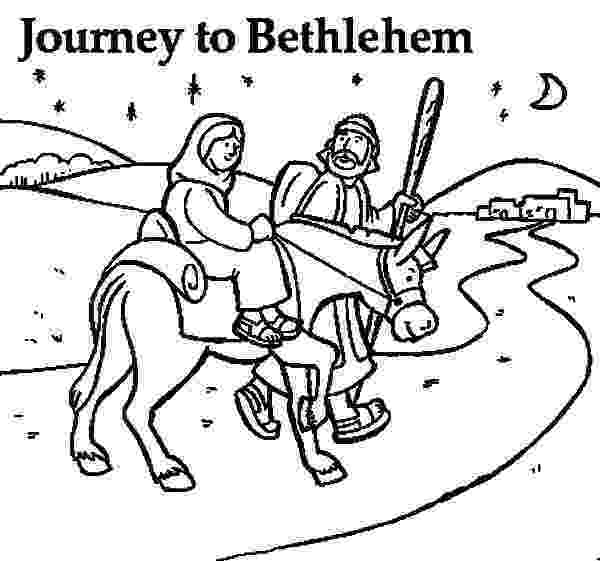 mary and joseph travel to bethlehem coloring pages mary joseph donkey coloring page audio stories for coloring and pages travel to bethlehem mary joseph