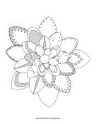 maryland state flower md flag coloring sheet for kindergarten united states flower state maryland