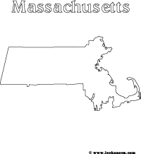 massachusetts state flag coloring page state symbols printables free map worksheets coloring massachusetts coloring flag state page