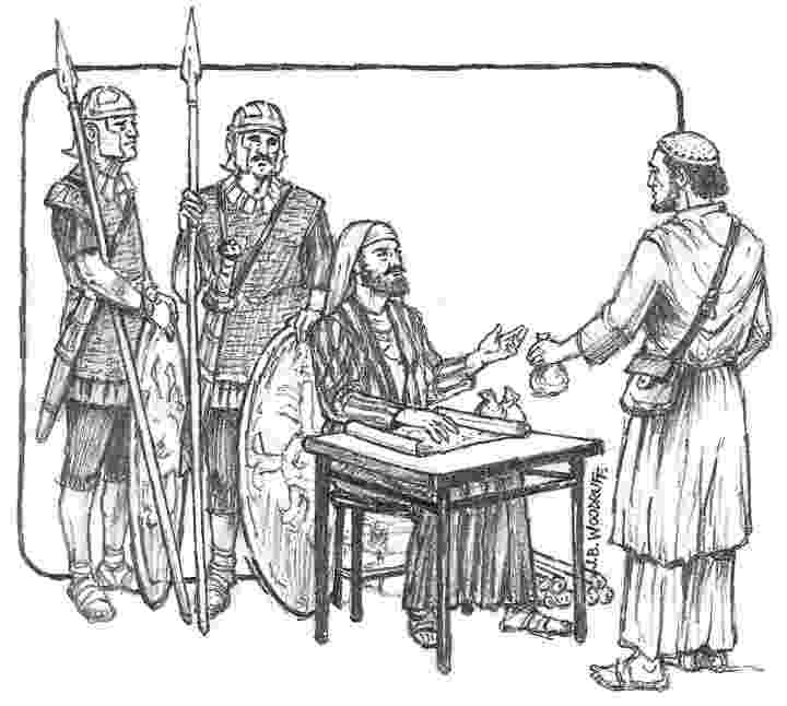 matthew the tax collector coloring page ingenious inspiration matthew the tax collector coloring tax collector matthew coloring the page