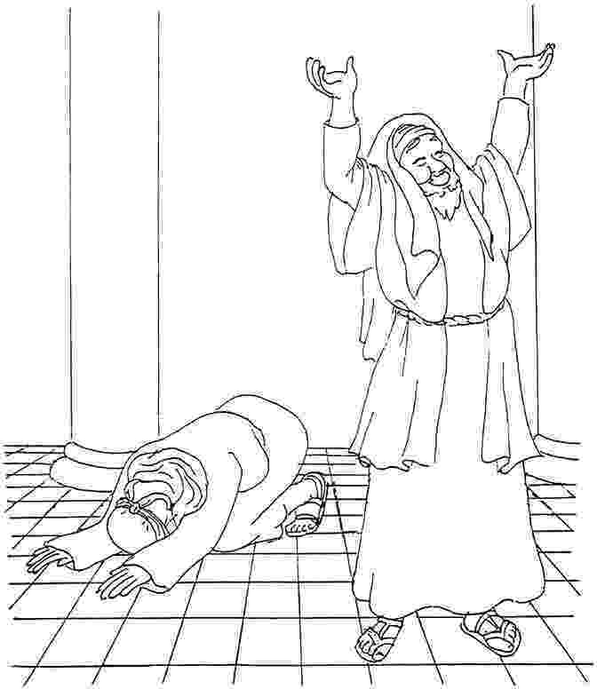 matthew the tax collector coloring page pharisee and the publican coloring page pharisee and tax collector page matthew the tax coloring