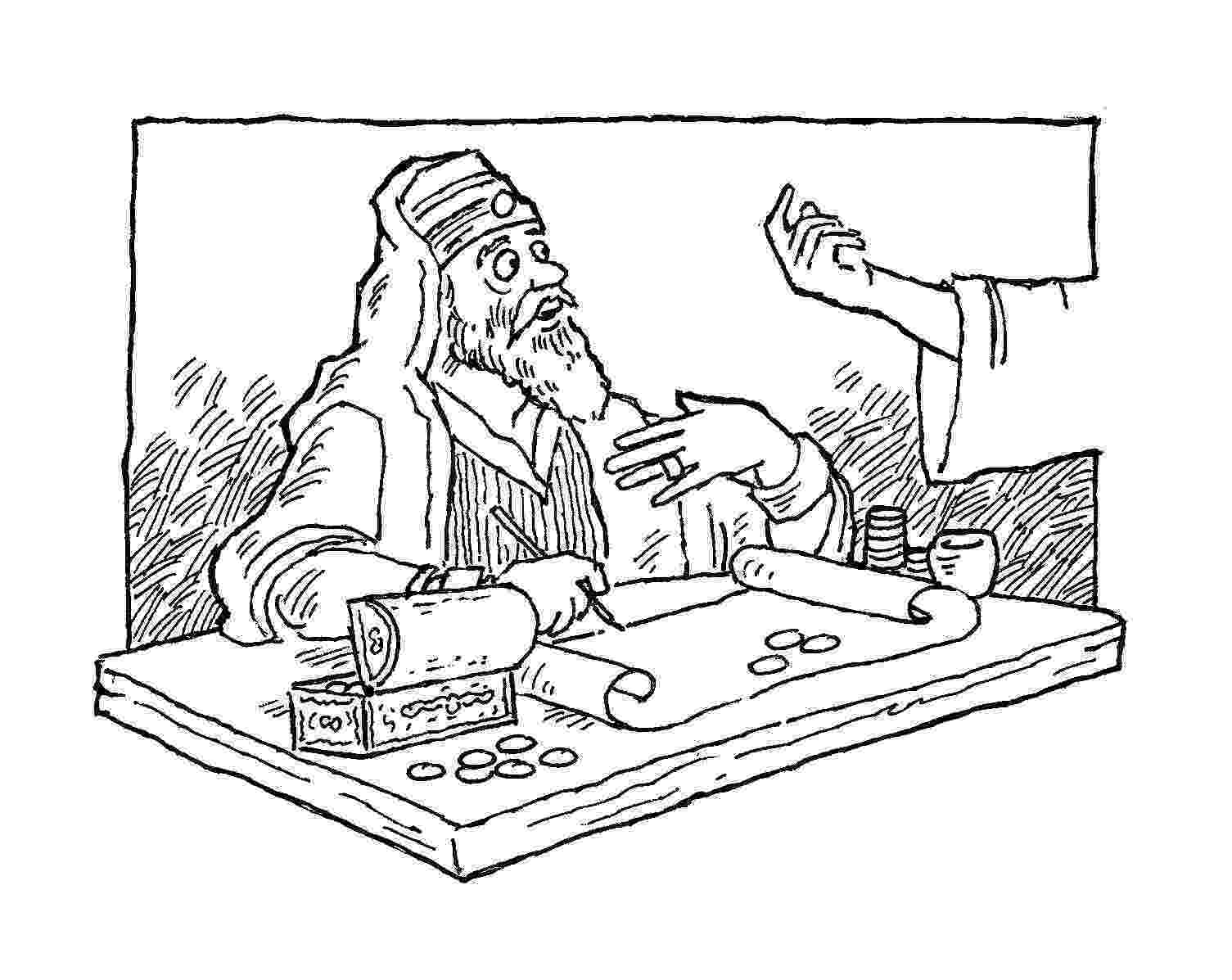 matthew the tax collector coloring page september232007 goodshepherdlcms page collector coloring matthew the tax